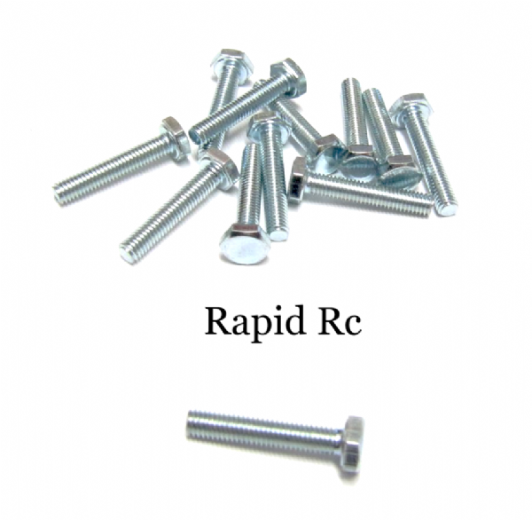 M3 x 16mm Hex Head High Tensile Hex Bolts